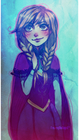 Frozen: Anna by FROZENVIOLINIST