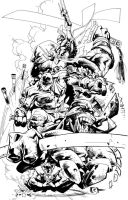 TMNT PinUp by johjames