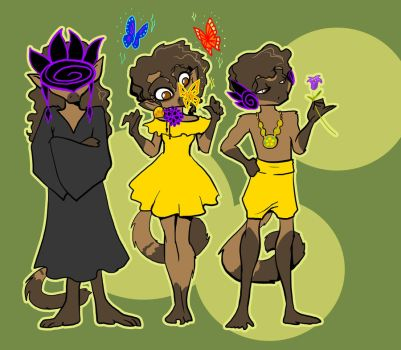 Aztecs effing love butterflies by Warlord-of-Noodles