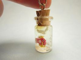 Pokemon Magikarp in a bottle by TrenoNights