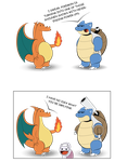 Blastoise Rants by LandonBridge