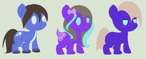 Giselle and Shiver Foals- One Open by PyscoSnowflake