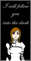 Orihime entering the darkness by rankin24