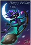 Witch-cat by 14-bis