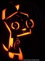 Gir Pumpkin by pirateking42