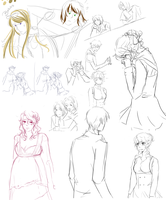 sketch dump stuff by kelly--bean