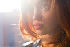 sunshine portrait by DenisGoncharov