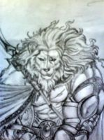 The lion warrior by White-Lion-Cub