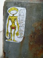 street sticker by chaingunchimp