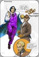 'Action' Oscar Wilde - colorized by Nick-Perks