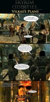Skyrim Oddities: Vilkas's Plans by Janus3003