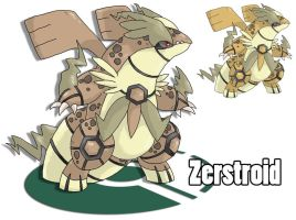Contest - Legendary Dragons! Zerstroid by Cid-Fox