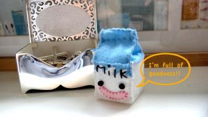 milk carton phone string by untitled512