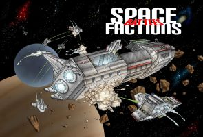 SpaceFactions Battles_Cover by adripan