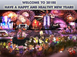 Happy 2010 To All by shinragod