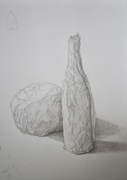 Wrapped Bottle and Ball by wiirus