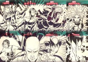Marvel Sketch Cards 6 by martheus
