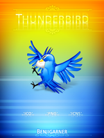 Thunderbird icon pack by Benjigarner