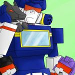 AT- Soundwave and Family by superhappyvidel