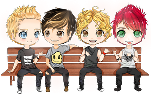 5 Seconds of Summer by Mimimoma