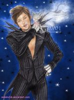 Norman Reedus - Crossover nightmare before Xmas by zelldinchit