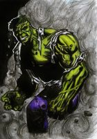 The Incredible Hulk by knikki121