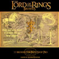Lord of the Rings brushes PSP by AmarieVeanne-Stock