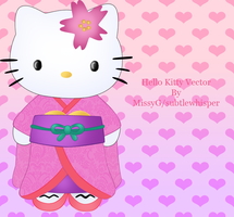 Hello Kitty vector by subtlewhisper