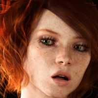 Freckles by SenZzo-art