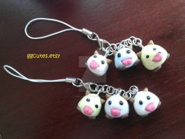 Little Poro Charms by ambivalenc3
