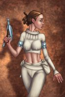Padme Senses Danger by umbrafox