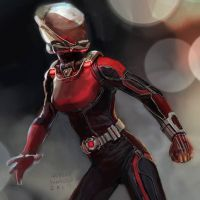 Wasp - concept art by Ubermonster