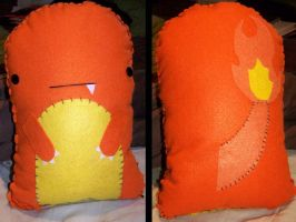 Charmander Plush by EzustRoka