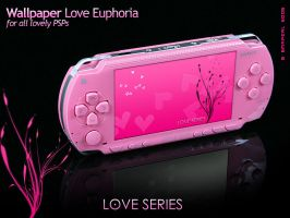 Love Euphoria Wallpaper PSP by bmrpeal