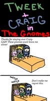 Tweek and Craig - The Gnomes by Anime-Amie