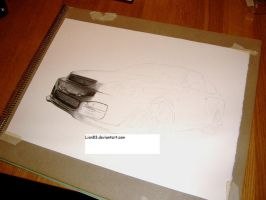 WIP2 - Drawing a Honda Civic by Per-Svanstrom