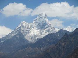 Mountain 5 ama dablam by PipDesign