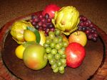 Fresh Fruit and Artichokes by FantasyStock
