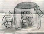 Monster in a Jar by DarkStarling716