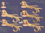 Step by Step - Rapunzel hair TUTORIAL by Saviroosje