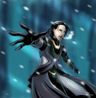 Loki in Jotunheim by StudioKawaii