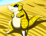 Chubby desert mouse by DELT-4