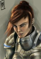 Sarah Kerrigan Fan Art by ReneeMars