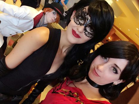 Cinder, Cinder...and Roman Photobombing by MichiMidnight