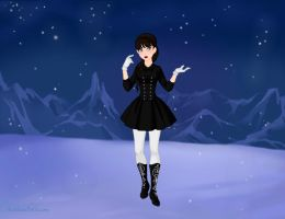Wensday Adams Frozen Style by shatteringlight