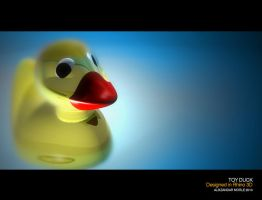 Classic 1967 Rubber Duckie by aMorle