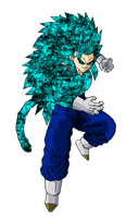 Vegetto SSJ 14 by ansemporo002