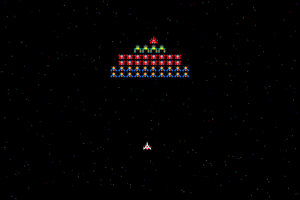 Galaga Wallpaper by camdencc