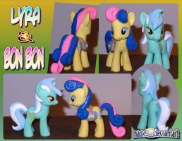 Custom Lyra and Bon Bon by HeyLookASign