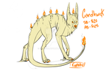 Design for auction *Candlewick* by Kipachie
